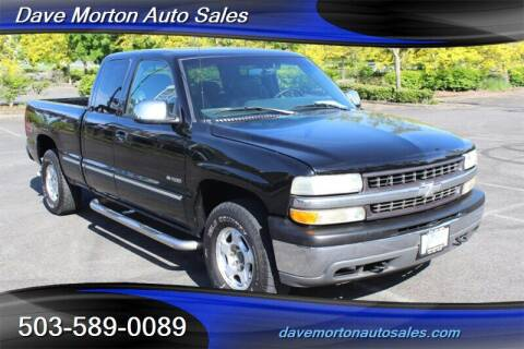 1999 Chevrolet Silverado 1500 for sale at Dave Morton Auto Sales in Salem OR
