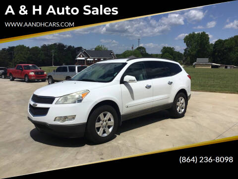 2010 Chevrolet Traverse for sale at A & H Auto Sales in Greenville SC