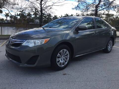2012 Toyota Camry for sale at Top Trucks Motors in Pompano Beach FL