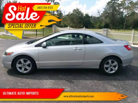 2007 Honda Civic for sale at ULTIMATE AUTO IMPORTS in Longwood FL