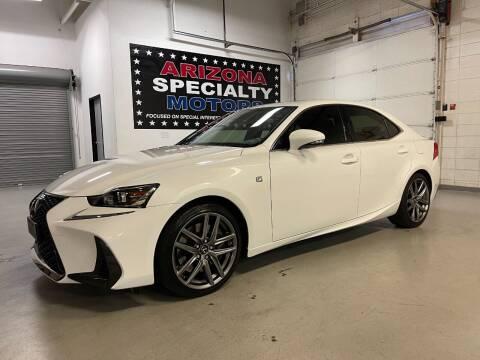 2017 Lexus IS 200t for sale at Arizona Specialty Motors in Tempe AZ