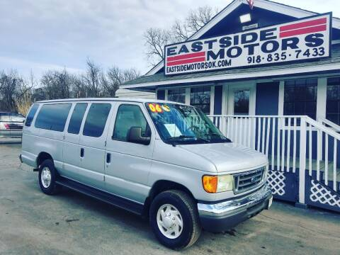 2006 Ford E-Series Wagon for sale at EASTSIDE MOTORS in Tulsa OK