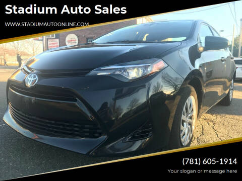 2017 Toyota Corolla for sale at Stadium Auto Sales in Everett MA