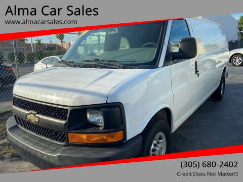 2014 Chevrolet Express Cargo for sale at Alma Car Sales in Miami FL