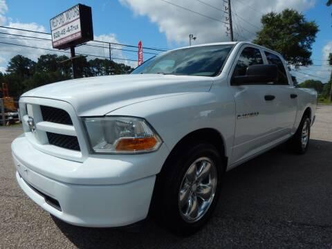 2012 RAM Ram Pickup 1500 for sale at Medford Motors Inc. in Magnolia TX