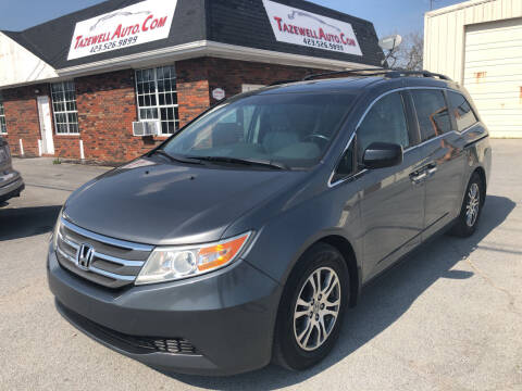 2012 Honda Odyssey for sale at HarrogateAuto.com - tazewell auto.com in Tazewell TN
