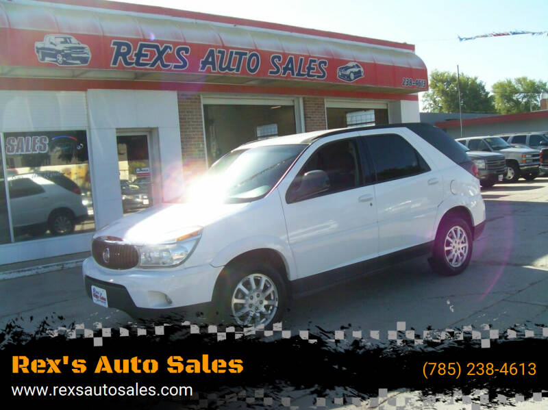 2006 Buick Rendezvous for sale at Rex's Auto Sales in Junction City KS