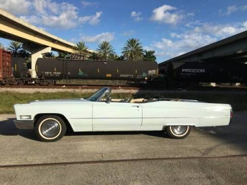 1968 Cadillac DeVille for sale at Classic Car Deals in Cadillac MI