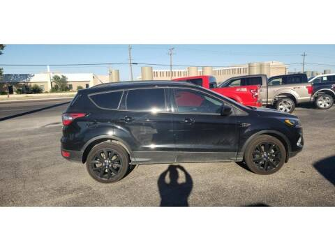 2018 Ford Escape for sale at STANLEY FORD ANDREWS in Andrews TX