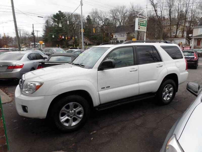 2009 Toyota 4Runner for sale at CAR CORNER RETAIL SALES in Manchester CT