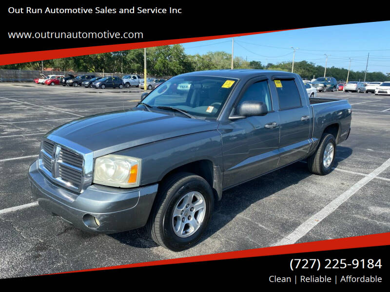 2006 Dodge Dakota for sale at Out Run Automotive Sales and Service Inc in Tampa FL