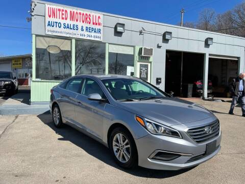 2017 Hyundai Sonata for sale at United Motors LLC in Saint Francis WI