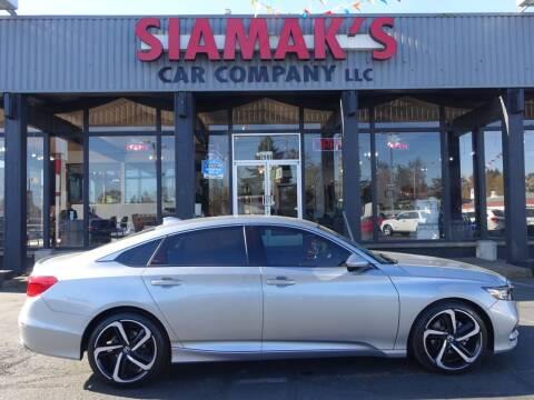 2019 Honda Accord for sale at Siamak's Car Company llc in Salem OR