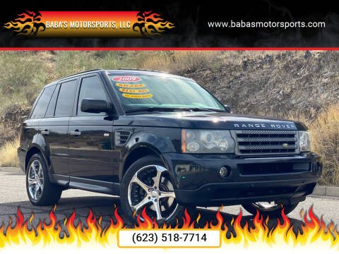 2009 Land Rover Range Rover Sport for sale at Baba's Motorsports, LLC in Phoenix AZ