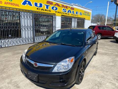 2008 Saturn Aura for sale at Sam's Auto Sales in Houston TX