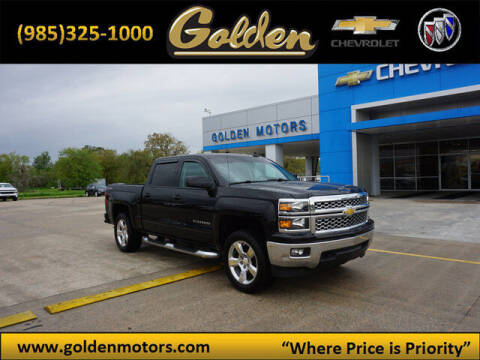 2015 Chevrolet Silverado 1500 for sale at GOLDEN MOTORS in Cut Off LA