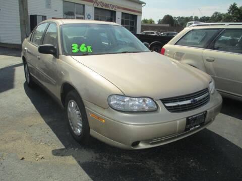 2003 Chevrolet Malibu for sale at GREG'S EAGLE AUTO SALES in Massillon OH