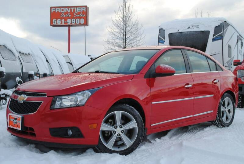 2014 Chevrolet Cruze for sale at Frontier Auto & RV Sales in Anchorage AK