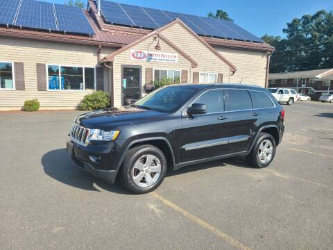 2012 Jeep Grand Cherokee for sale at V & F Auto Sales in Agawam MA