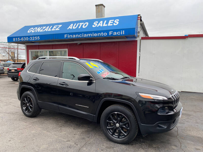 2014 Jeep Cherokee for sale at Gonzalez Auto Sales in Joliet IL