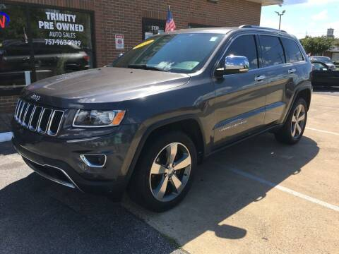 2015 Jeep Grand Cherokee for sale at Bankruptcy Car Financing in Norfolk VA