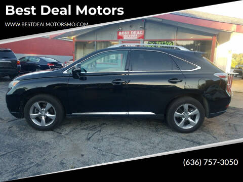 2011 Lexus RX 350 for sale at Best Deal Motors in Saint Charles MO