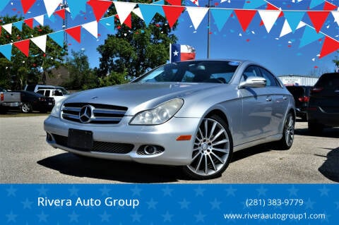 2010 Mercedes-Benz CLS for sale at Rivera Auto Group in Spring TX