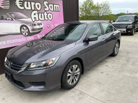 2014 Honda Accord for sale at Euro Auto in Overland Park KS