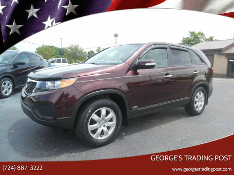 2013 Kia Sorento for sale at GEORGE'S TRADING POST in Scottdale PA