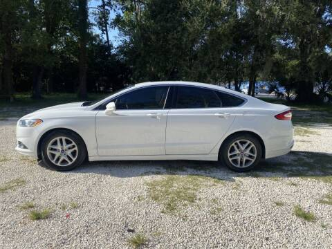 2015 Ford Fusion for sale at REDLINE MOTORGROUP INC in Jacksonville FL
