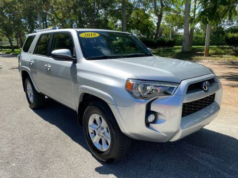 2019 Toyota 4Runner for sale at DELRAY AUTO MALL in Delray Beach FL