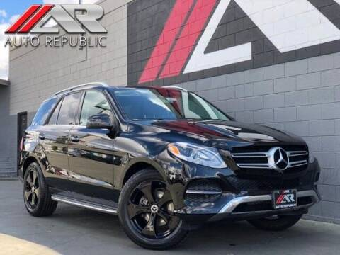 2016 Mercedes-Benz GLE for sale at Auto Republic Fullerton in Fullerton CA