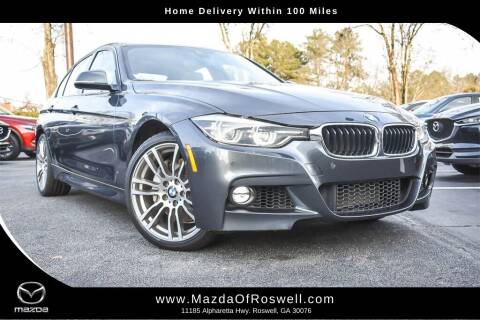 2017 BMW 3 Series for sale at Mazda Of Roswell in Roswell GA
