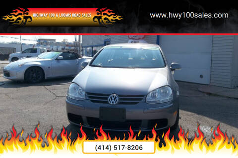 2008 Volkswagen Rabbit for sale at Highway 100 & Loomis Road Sales in Franklin WI