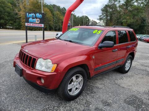 2005 Jeep Grand Cherokee for sale at Let's Go Auto in Florence SC