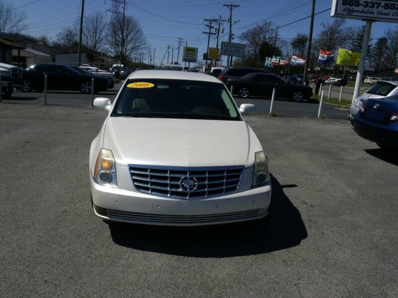 2008 Cadillac DTS for sale at Knoxville Used Cars in Knoxville TN