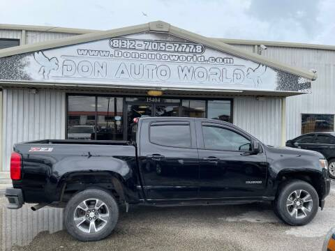 2015 Chevrolet Colorado for sale at Don Auto World in Houston TX