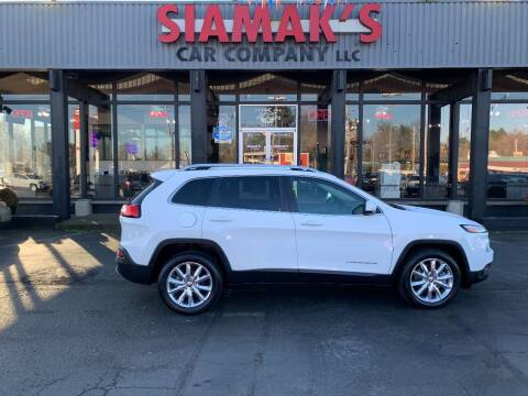 2016 Jeep Cherokee for sale at Siamak's Car Company llc in Salem OR