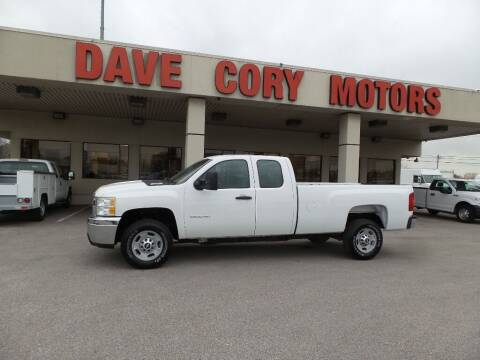 2013 Chevrolet Silverado 2500HD for sale at DAVE CORY MOTORS in Houston TX