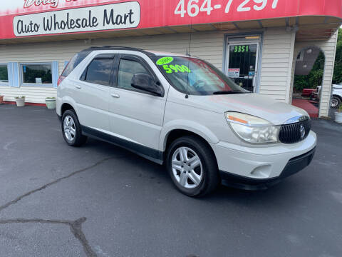 2006 Buick Rendezvous for sale at Doug White's Auto Wholesale Mart in Newton NC