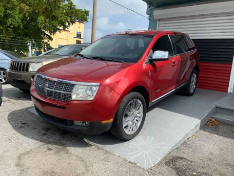 2008 Lincoln MKX for sale at Naber Auto Trading in Hollywood FL