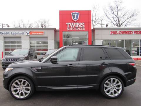 2014 Land Rover Range Rover Sport for sale at Twins Auto Sales Inc in Detroit MI
