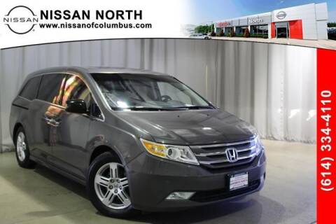 2012 Honda Odyssey for sale at Auto Center of Columbus in Columbus OH