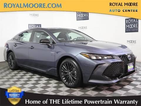 2021 Toyota Avalon Hybrid for sale at Royal Moore Custom Finance in Hillsboro OR