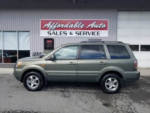 2007 Honda Pilot for sale at Affordable Auto Sales & Service in Berkeley Springs WV