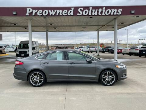 2015 Ford Fusion for sale at Preowned Solutions in Urbandale IA