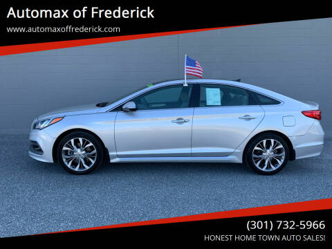 2015 Hyundai Sonata for sale at Automax of Frederick in Frederick MD
