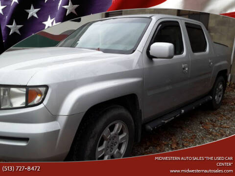 "2007 Honda Ridgeline for sale at MIDWESTERN AUTO SALES        ""The Used Car Center"" in Middletown OH"