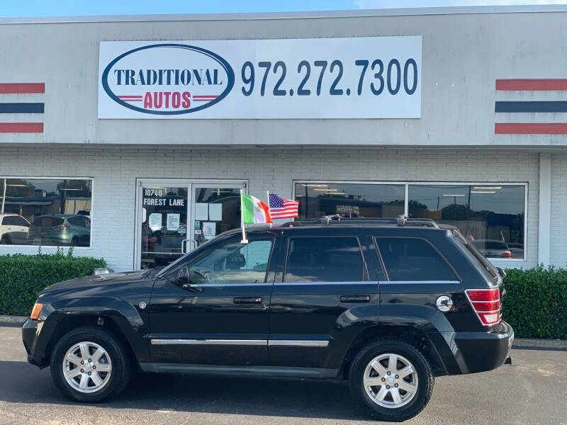 2009 Jeep Grand Cherokee for sale at Traditional Autos in Dallas TX