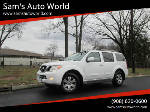 2009 Nissan Pathfinder for sale at Sam's Auto World in Roselle NJ